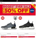 JD Sports UK - up to 50% off + £9.99 Shipping: adidas NMD £79.99 (~AU $132) Shipped