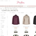 Millers 40% Off* Coats and Vests
