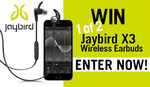 Win 1 of 2 Sets of Jaybird X3 Wireless Earbuds Worth $199.95 from Seven Network