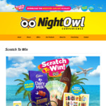[QLD] 1 Item for Free Every Day with Purchase @ NightOwl Convenience (Mobile App Required)
