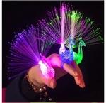 US $0.1 Delivered - LX3162X Flash Peacock Finger Ring @ Focalprice