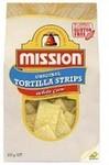 50% off Mission Foods e.g. White Corn Strips 500g $2.74, Gluten-Free White Corn Tortillas 12pk 312g $1.90 @ Coles