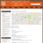 [NSW] Free Parking North Sydney - Ridge St Carpark (3 Levels, Covered)