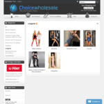 Women's Lingerie (Corsets, Adult Costumes, Stockings, Camisole, Strapless C Gstring): $10 or Less + Shipping @ ChoiceWholesale