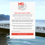 [NSW] 40% off MS Sydney to Gong Bike Ride