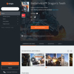 [PC] $0 Battlefield 4 Dragon's Teeth (Expansion Pack) @ Origin