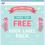 Book Labels $3.99 Shipped @ Hippo Blue
