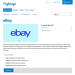 flybuys Points Now on eBay Purchases - 1 Point Per $2 Spent - Now Open for Everyone