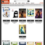 Digital Comics Sale + Extra 50% off with Code eg. Graphic Novels $1.50 USD (~$1.98 AUD) @ Dark Horse