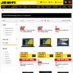 15% off HP, Dell, Lenovo and Acer Computers @ JB Hi-Fi