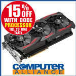 ASUS STRIX Vega64 8GB PCIe Video Card PN ROG-STRIX-RXVEGA64-O8G-GAMING Special - $849.15  @ Computer Alliance on eBay