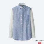 J W Anderson Linen Cotton Shirt $19.90 (Was $59.90) @ Uniqlo