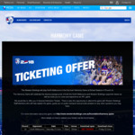 [VIC] Free Tickets to AFL Game Western Bulldogs Vs North Melbourne Saturday 23 June