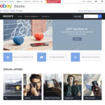 Spend $300 or More and Save 10% off The Listed Price of All Products on The Sony eBay Store