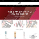 Free Shipping No Minimum Order Sale Items from $2 Delivered @ e.l.f. cosmetics