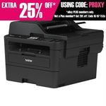 Brother MFC-L2750DW Wireless Mono Multifunction Laser Printer $199 Free Postage for eBay Plus @ Au-Hotpoint
