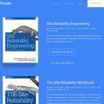 "Free eBook ""The Site Reliability Workbook"" @ Google"