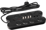 HPM 8 Outlet TV/AV Surge Protected Powerboard $27.89 (Was $54) @ Bunnings