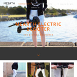 Pre-Order Electric Scooter Pro $519 ($100 off) + Free Shipping in NSW @ Mearth
