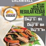 [QLD] $5 Regular Kebab inc 600ml Drink @ Sunshine Kebabs Calamvale