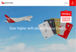 Qantas Double Status Credits on QF Flights between 23 Oct 2018 and 30 Jun 2019 (Must Register and Book between 11 - 16 Oct)