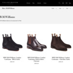 R.M. Williams Chelsea Boots £210 + £9.99 Shipping (~AU $394.88) & 40% off All R.M. Williams Items @ Collier Bristow