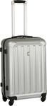 Swiss Hard Trolley Luggage Case 68cm - Silver $38.50 (Was $55) @ Big W
