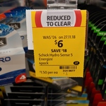 Schick Hydro5 Sense Cartridges 4pk $6 (Was $24) @ Coles