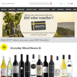 $50 off Any Online Wine Purchase Over $120 @ Cellarmasters