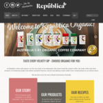 Coffee Pods Variety Pack - 30 Pods for $10 + Free Shipping @ Republica Organic