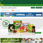 Woolworths Online Save $15 with $180 Spend