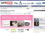 WA Only: Free Mothers Day Message in Sunday Times (Newspaper) + Competition