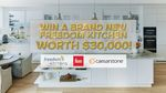 Win a Freedom Kitchen Worth $30,000 from Nine Network [Homeowners]