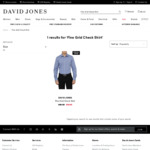 100% Men's Cotton Shirt or Polo Shirt $10 Each (Selected Style & Color) @ David Jones