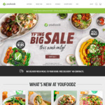 "$20 off $59 Spend, 2 Free ""Last Chance"" Meals @ Youfoodz"