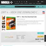 [XB1] DiRT 4 Download Code $13.66 @ MMOGA