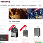 Star Wars Luggage 3 Piece Set $199 and Free Delivery @ Bags to Go