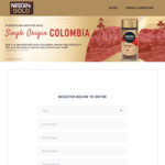 Win 1 of 200 Bottles of Nescafé Gold Colombia Origin Worth $9.50 from Nestlé
