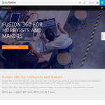 Free - Fusion 360 Annual Licence for Hobbyists & Makers @ Autodesk