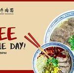 [NSW] Free Bowl of Noodles @ Mr Chen Beef Noodle, 5-9pm 11/7 (Haymarket)