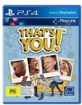 [PS4] That's You! (PS4 Playlink Enabled Game) $6.39 Shipped @ RepoGuys via eBay