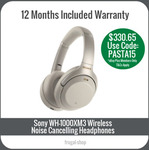 [eBay Plus] Sony WH-1000XM3 Wireless Noise Cancelling Headphone Silver $330.65 Delivered @ Frugal Shop eBay