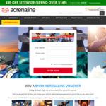 Win a $1,000 Voucher from Adrenaline