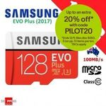 Samsung EVO Plus 128GB Micro SD $23.97, SanDisk Ultra 128GB $19.96 + Delivery ($0 with eBay Plus) @ Shopping Square eBay