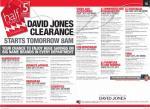 David Jones Pre-clearance night Tuesday, 3 June @ 5pm