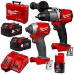 10% off Milwaukee M18FPP2A2-502C 18V 5.0ah Li-Ion Cordless GEN 3 Fuel 2pce Combo Kit - $584.10 Shipped (Was $649) @ Plus Tools