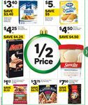 $30 Telstra / Optus SIMs for $15, McCain Flavour Boss Pizzas $3.75, Steggles Chicken Breast Finger 400g $3.40 @ Woolworths