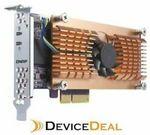QNAP QM2-2S Card, Dual M.2 Sata SSD PCI-e Expansion Card $81 @ DeviceDeal eBay