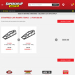 2x Stanfred Car Ramps 750KG $69.99 (Normally $129.98) @ Supercheap Auto