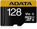 ADATA 128GB Premier ONE microSDXC UHS-II V90 Read: 275MB/s Write 155MB/s $95.00 (+Delivery or Free Pickup) @ MWAVE